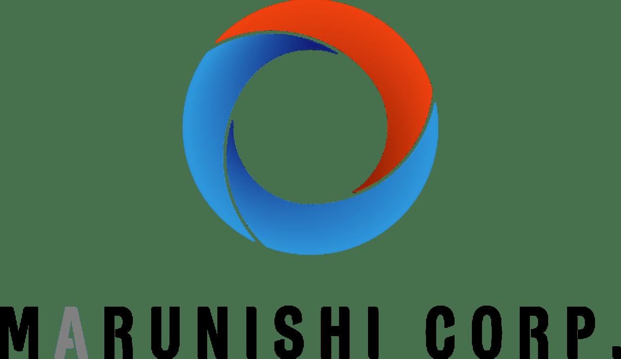 MARUNISHI CORP.ロゴデザイン縦画像