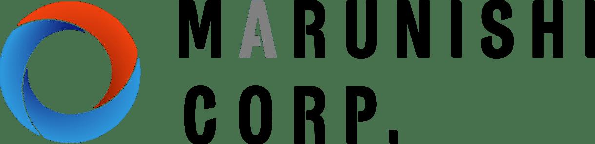 MARUNISHI CORP.ロゴデザイン横画像