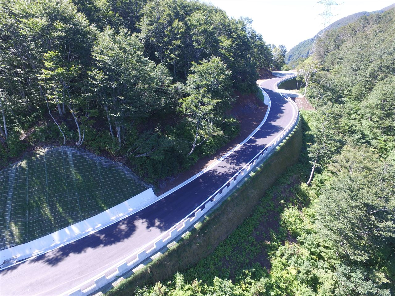 一般国道416号国道改築工事(改良工その6)