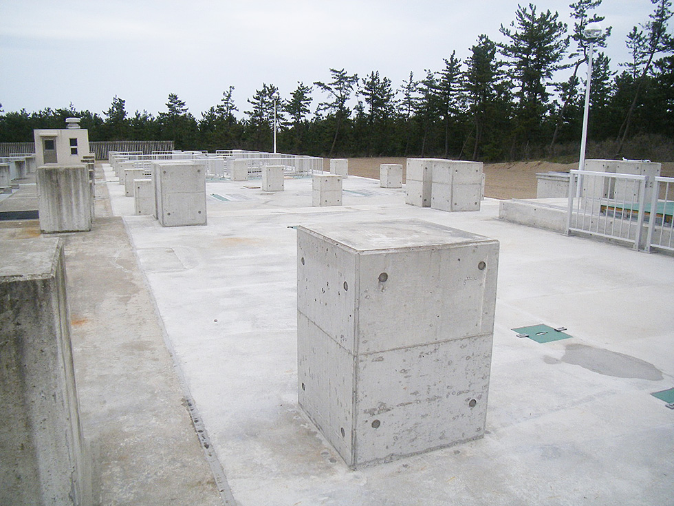 加賀沿岸流域下水道処理場整備工事