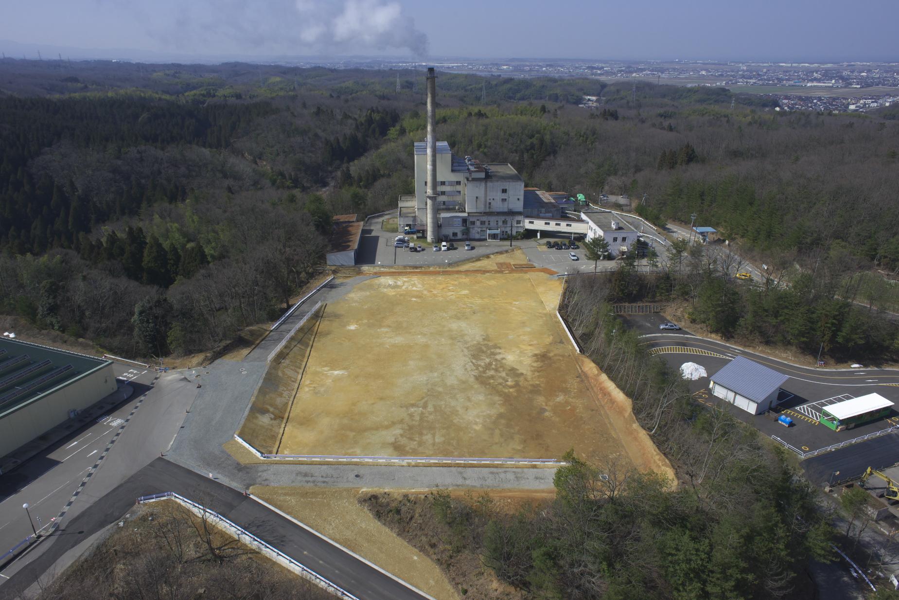 新ごみ処理施設建設に伴う造成工事