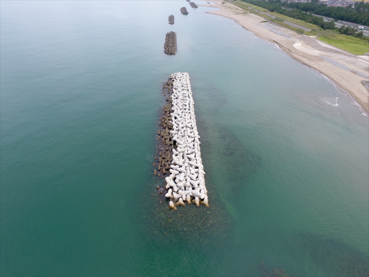 根上海岸災害復旧工事
