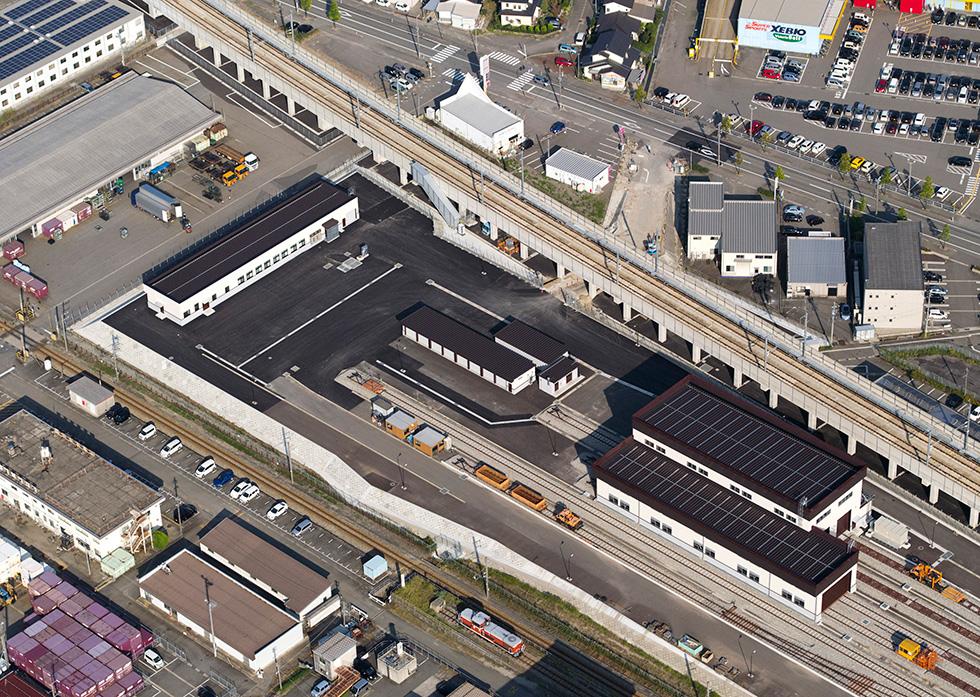 北陸新幹線 富山保守基地